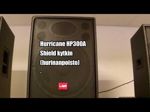 LEM HP Hurricane aktiivi tehdasdemo