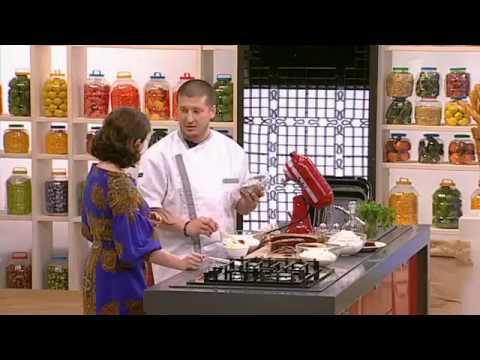 Рецепт торта Торт «Пинчер кучерявый» с вишней - YouTube