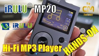 iRULU F20 Test :  Hi-Fi MP3 Music Player - Hands-on (Deutsch, engl. ...