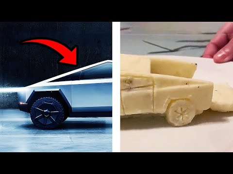 Melissa Forman in the Morning - A Tesla Truck made out of Mashed Potatoes is stealing the Internet