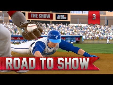 MLB 13 Road to the Show | Double D's | The Double King [EP 3]