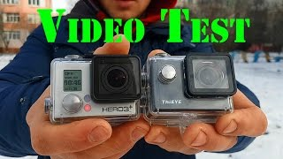 GoPro 3+ vs ThiEYE i60 Video Test / Видео Обзор-cравнение камер