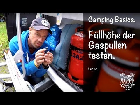 happy camping gasflasche f llstand testen dometic gas checker youtube. Black Bedroom Furniture Sets. Home Design Ideas