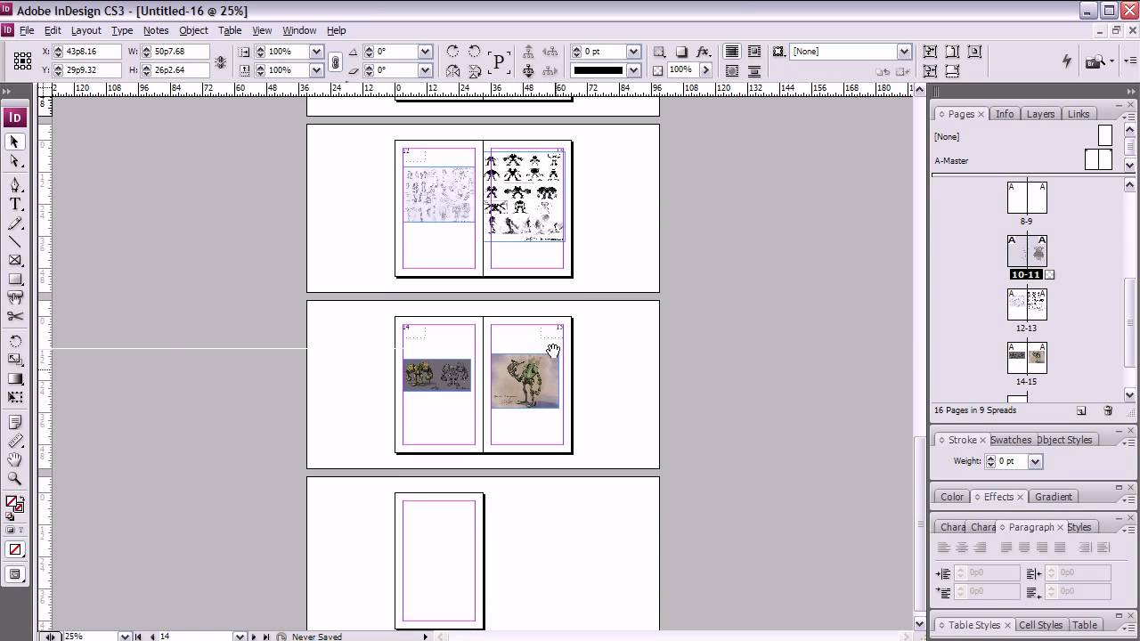How To Make A Book Cover In Indesign ~ Artist s crash course booklet printing in indesign youtube