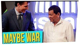 Philippines vs. Canada | Thoughts on Filipino President (ft. Simu Liu)