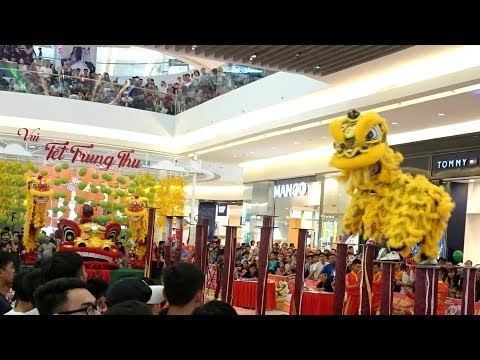 The 3rd Crescent Mall's Lion and Dragon Dance Competition 2017 | 梅花樁