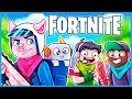 I *CARRIED* a PRO PLAYER in Fortnite: Battle Royale! (Fortnite Funny Moments & Fails)