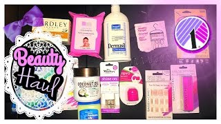 DOLLAR TREE Beauty Essentials 💅🏼 My Favorite $1 Finds • fabb TV • DT HAUL 2017