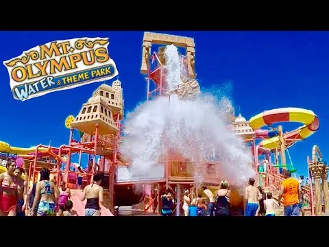 Wisconsin Dells Mt. Olympus Waterpark and Rides