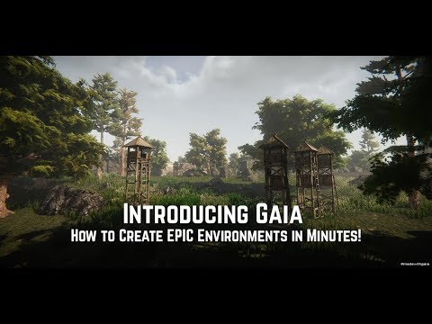 Create EPIC Environments in Minutes With GAIA & Friends!