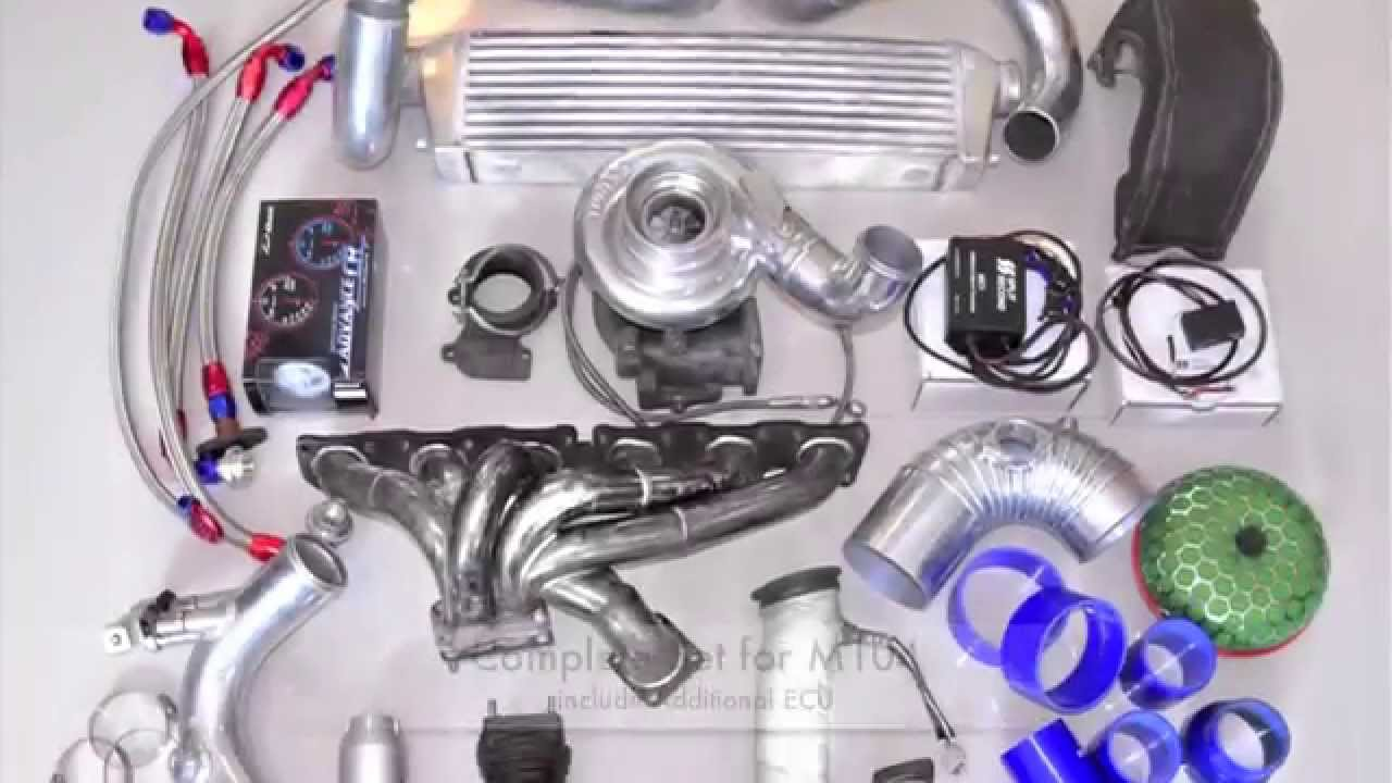 Ebay GT45 Small Block Chevy Turbo Kit Unboxing. - YouTube