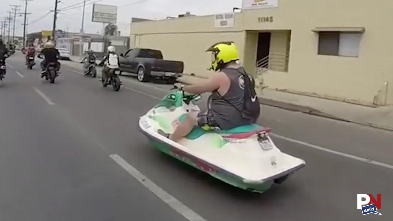 A Motorcycle Jet Ski Hybrid Hits The Streets
