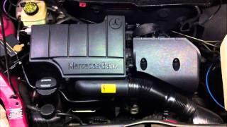mercedes benz a160 75 kw 102 ps 101 hp 1 6l petrol motor