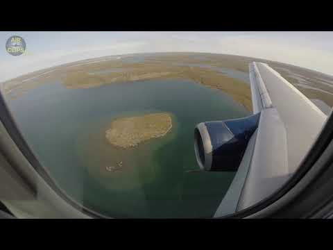 Lovely Nolinor Boeing 737-200 Passenger View During Exotic Meadowbank GRAVEL Landing [AirClips]