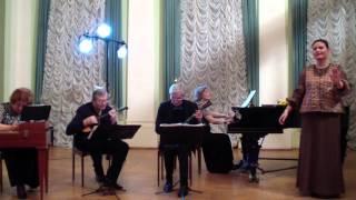 Московский квартет и Любовь Молина - Третья песня Леля из оперы