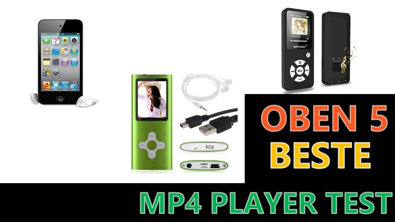 beste mp4 player test 2019 youtube