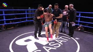 Vasilios SARAPTSIS VS Loni GASHI WKU 24 03 2018