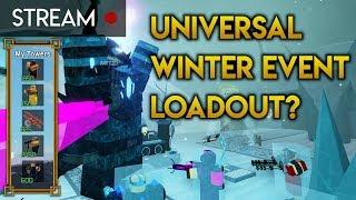 Testen eines Allround-Winter-Event-Loadouts | Turmschlachten [ROBLOX]