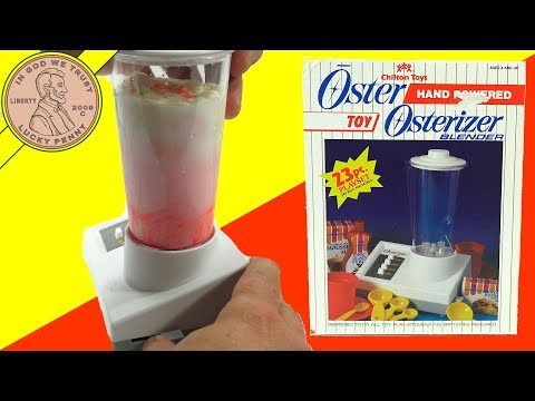 Osterizer Hand Powered Toy Blender - Chilton Toys