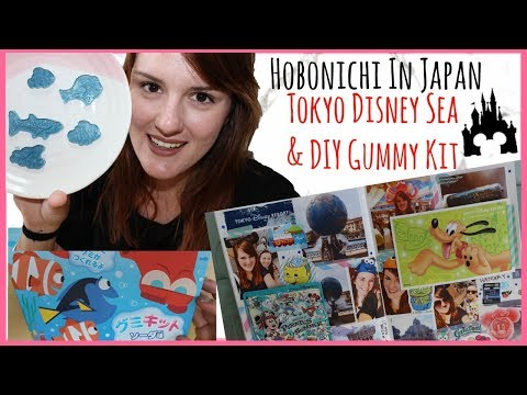 Hobonichi In Japan Tokyo Disney Sea Vlog | BONUS Finding Dory Gummy Kit