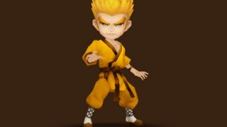 Summoners War - Lo (wind martial artist) damage test