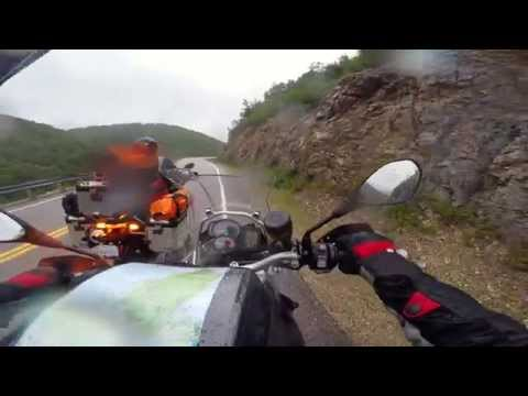 Canadian East Coast Motorcycle trip GoPro Footage HD