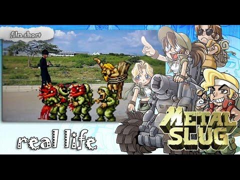 Metal slug real life