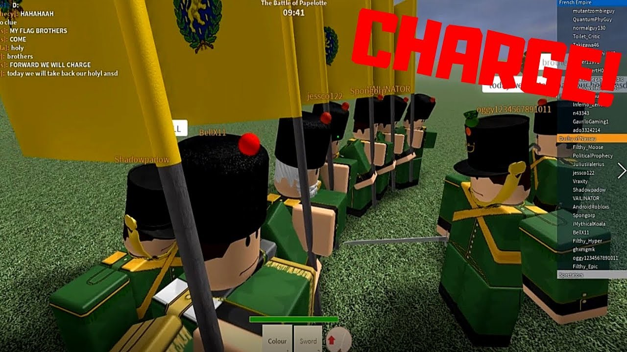 So Many Charging Flags Roblox Blood And Iron Funny Gameplay