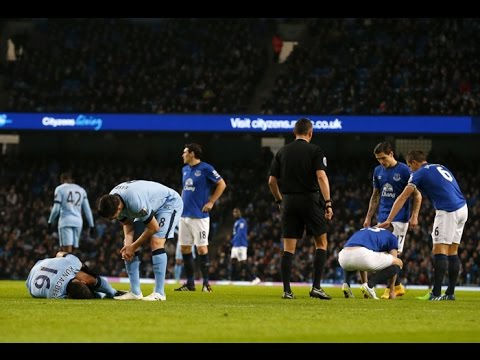 English Premier League 2014 - Manchester City vs Everton (1-0)