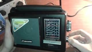 Обзор радиоприемника MASON R-891