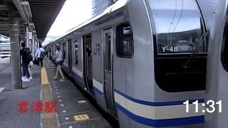 1度は追い抜かれた快速電車に、各駅停車で追いつく方法 総武線
