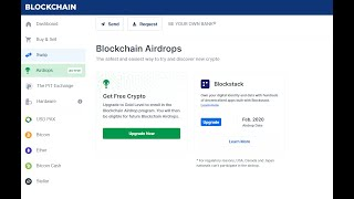 Blockstack Airdrop worth $10 by Blockchain Wallet - Cryptonica
