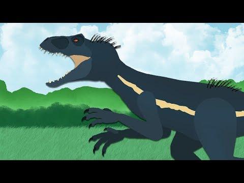 DinoMania - Indoraptor vs Indominus | Godzilla Megalodon Spinosaurus and T-Rex | Dinosaurs battles