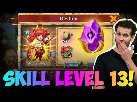 UPDATE Level 13 SKILLS Overview Castle Clash