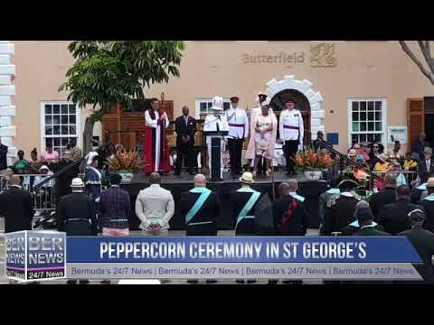 Part 2 | Peppercorn Ceremony in St George's, April 24, 2019