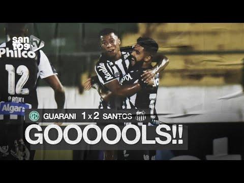 GUARANI 1 X 2 SANTOS | GOLS | PAULISTÃO (27/01/20)