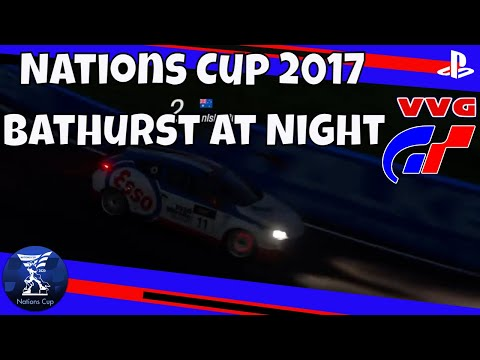 Bathurst Mt Panorama Renault Megane Gr.4 GT Sport FIA Championship Night Race Replay
