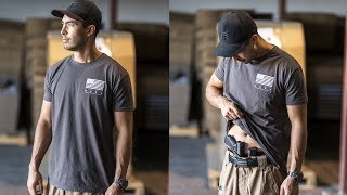 2018 Limited Edition GIVE RISE T Shirts Live Now Concealed Carry Tactical T Shirt