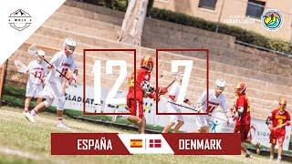 España lacrosse Netanya 2018 | Partido 4 contra Dinamarca | Wolf
