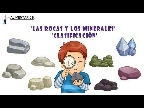 Las Rocas Y Minerales Geología Clasificación Vídeos Educativos Youtube