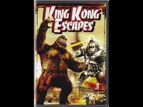 King Kong Escapes Dvd Review Youtube