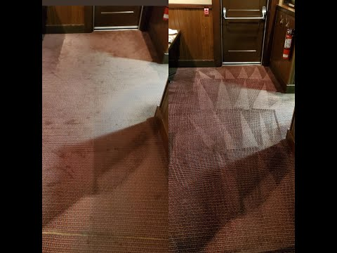 How to clean greasy carpets in a Restaurant  by Amna Cleaning Services