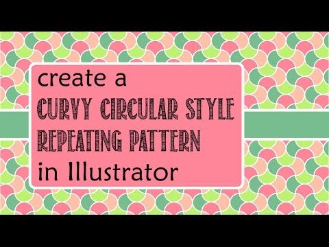 how to create repeating pattern illustrator