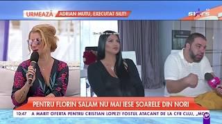 Roxana Dobre a plecat, din nou, din locuinţa lui Florin Salam