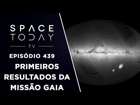 Os Primeiros Resultados da Missão Gaia - Space Today TV Ep.439