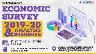 Open Session on Economic Survey 2019-20 | Part 2