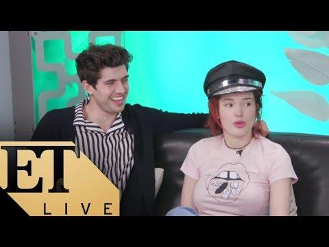 Bella Thorne & Carter Jenkins Talk 'Famous In Love'  ET LIVE