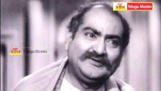 Naadee Aadajanme Telugu Movie Scene - NTR, Savithri, SVR, Haranath, Jamuna