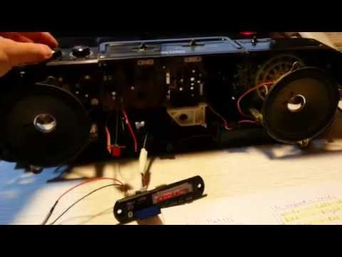 (part.2) How to upgrade your old cassette / tape deck to usb mp3 bluetooth radio player