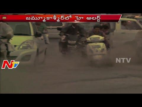 Heavy Rains Lashes Jammu Kashmir   NTV